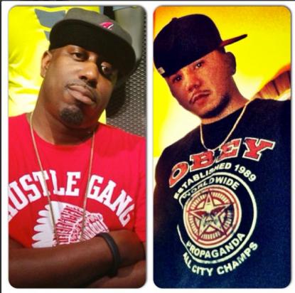 DJ Shawty Slim (left) and DJ KD (right)